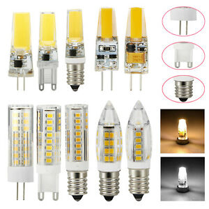 3w 5w 7w G4 G9 E14 Led Lampe Keramik Birne Sockel Leuchtmittel