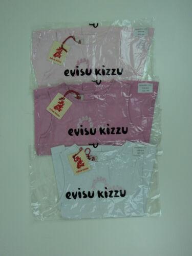 Authentic evisu kizzu babies robe rose doux tailles 3m à 23m bnwt