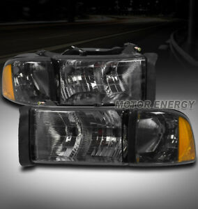 Image Is Loading 99 01 Dodge Ram 1500 Sport Headlight W