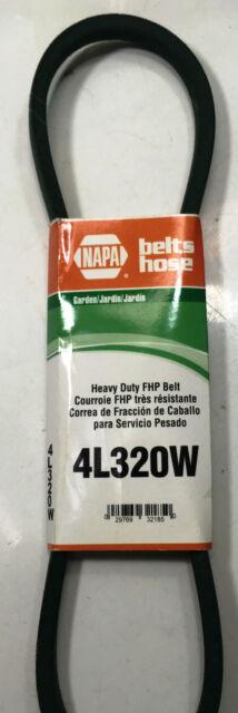 Rubber D/&D PowerDrive 25-9730 NAPA Automotive Replacement Belt