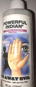 Go-Away-Evil-Indio-White-Blanco-8-oz-Spiritual-Wash-Witch-Ritual-Supply