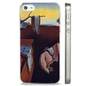 Details about Salvador Dali Melting Clocks Art CLEAR PHONE CASE COVER fits iPHONE 5 6 7 8 X