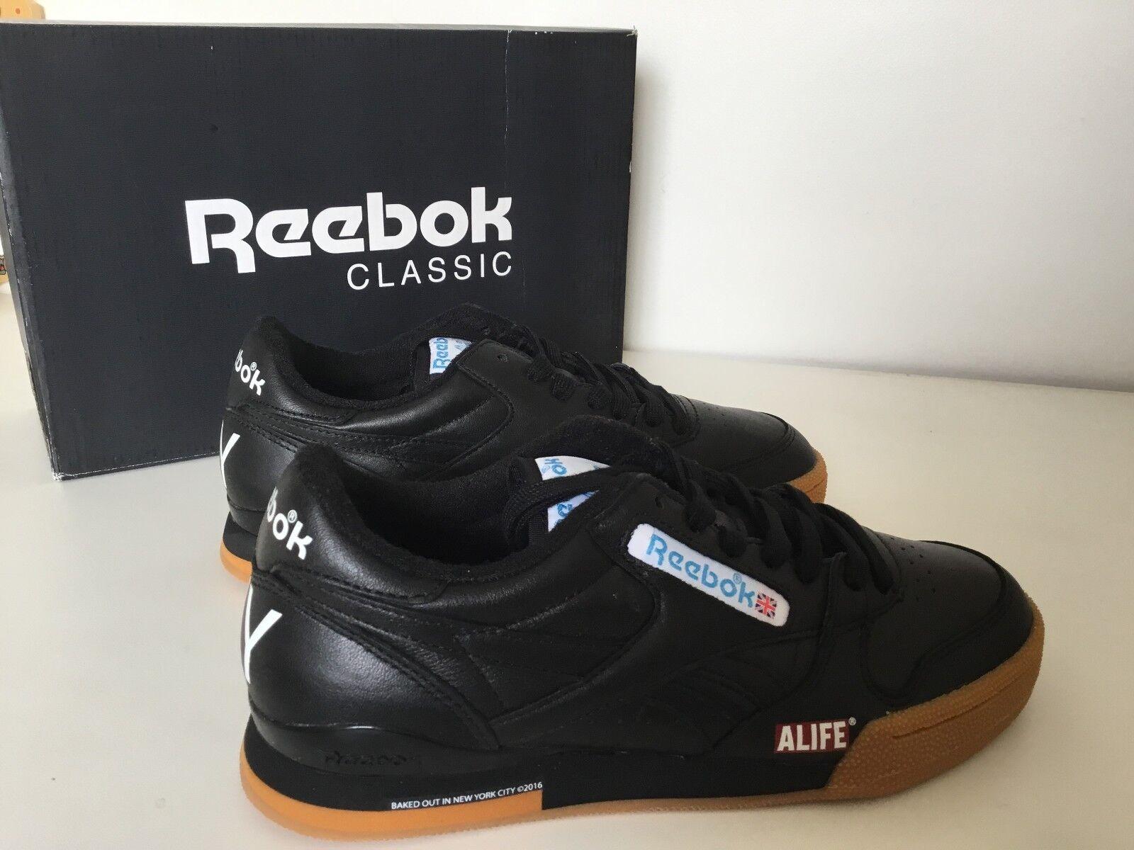 Reebok  Phase 1 Pro Alife NY New York mens scarpe di pelle nere  disponibile