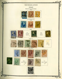Netherlands-amp-Colonies-1800s-to-1990-Huge-Clean-Stamp-Collection-1-000-Stamps