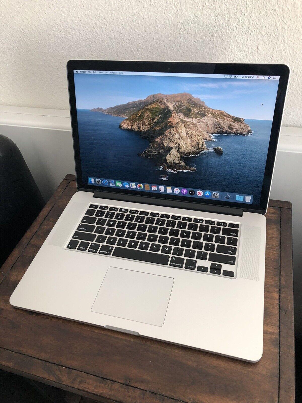 Apple MacBook Pro Retina 15-inch Mid-2015 16GB 512GB SSD 2.8 ghz i7. Buy it now for 899.00