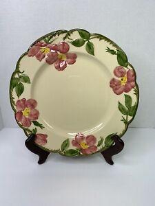 Antique-Franciscan-Desert-Rose-Dinner-Plate-10-1-2-1940-1947-Mark-EXCELLENT-USED