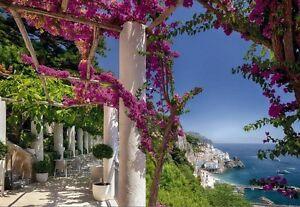 Sunny-Coast-Vista-Vacaciones-Paraiso-Papel-pintado-Fotomural-ITALIA-AL-MAR
