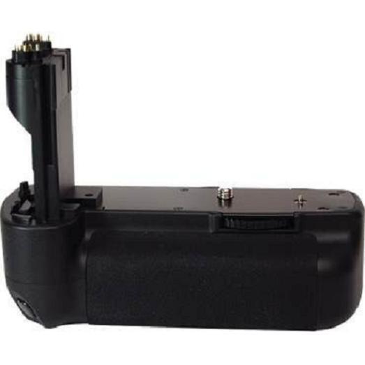 100% De Qualité Vertical Libération Prise Batterie Pour Canon Eos 5d Mark Ii 2 By Puissance 2000