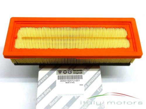 FIAT IDEA PANDA//Van 169 1,2 1,4 8v ORIGINALE FILTRO ARIA FILTRO 55192012 NUOVO