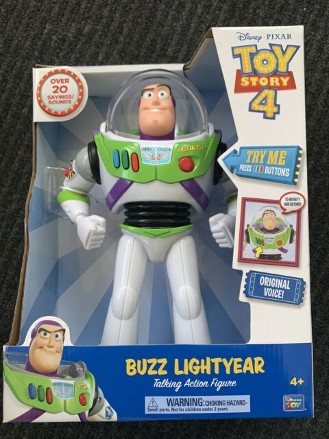 Toy Story Buzz Lightyear Action Figure Thinkway Toys 64069