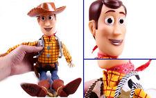 "NEW Disney Toy Story Plush Toy WOODY Talking Stuffed Doll Figure 15"""