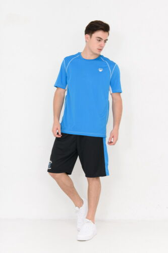 Youth Casual Top Moisture Wicking Tee Mens Short Sleeve Gym Dri-Fit Shirts XS-XL