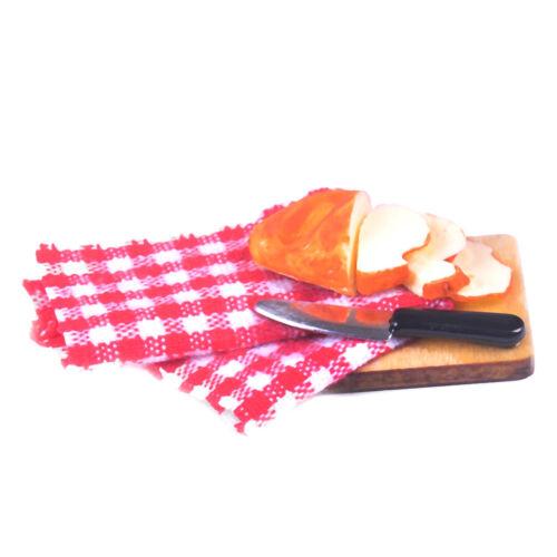 1:12 Strip bread chopping board miniature models for doll house Lp