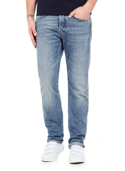 JEANS EDWIN MAN ED 80 SLIM TAPERED (deep bluee- dusky light) W38 L32 VAL