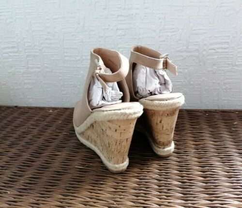 Women/'s New Look Polow Brown Wedge Sandales-Choisissez votre taille-RPR £ 28