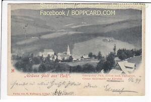 STEIERMARK-BEZIRK-VOITSBERG-GRUSS-GOTT-VON-DER-PACK-GRENZE-1899-Q