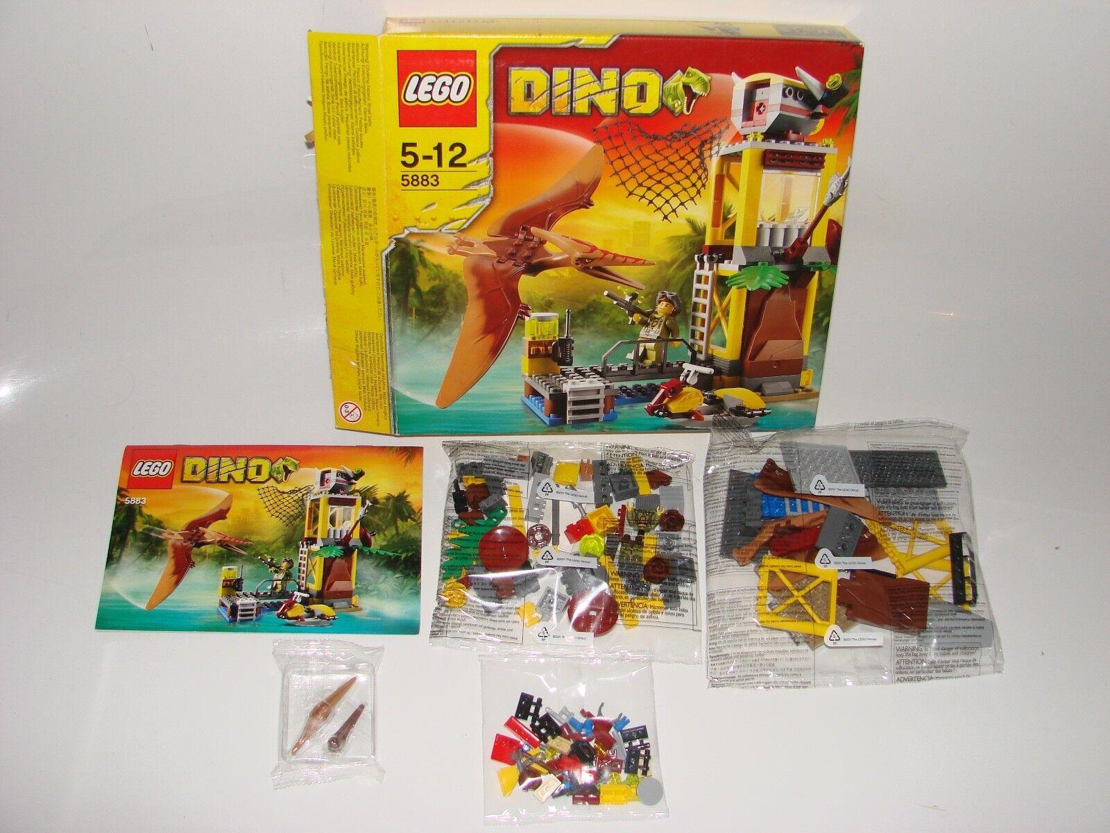 LEGO® Dino 5883 Pteranodon Falle NEU Karton offen_ Pteranodon Tower NEW box open