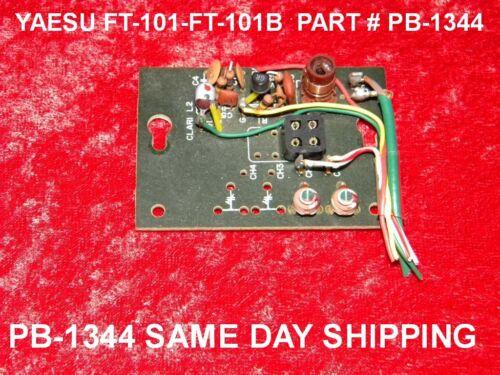 PCB Part # PB-1344 FREE SAME DAY SHIPPING YAESU FT-101B RADIO PARTS