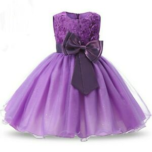 Violet-Princess-Girl-Formal-Dress-Wedding-Party-Birthday-Gift-Bridesmaid-Gown