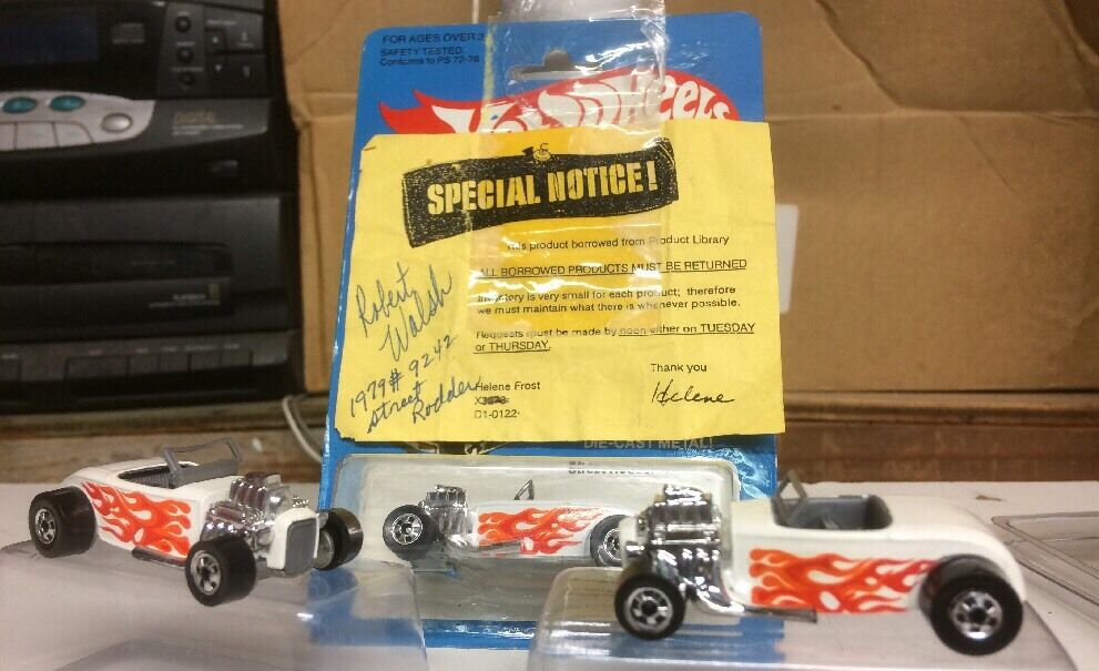 HOT WHEELS 1981 PRE-PRODUCTION PROTOTYPE DESIGN PROGRESSION LOT STREET RODDER