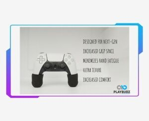 Playbudz PRO Grips - For The Playstation 5 (PS5) Controllers!
