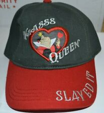 DISNEY STORE QUEEN OF HEARTS  HEARTLESS BASEBALL CAP NEW W TAGS FROM 2006