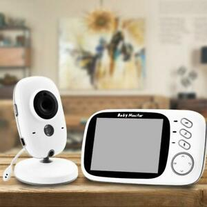 Wireless-Video-Color-Baby-Monitor-3-2-inch-High-Resolution-Baby-Nanny-Security-C