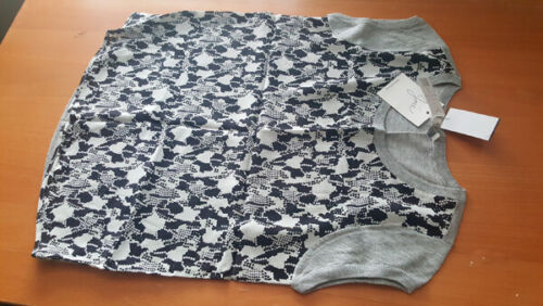 Light Xs Sweater Cap Nwt Rasha Grey 204 Mesh Joie 1wfBqYnx