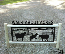 Sheep Clingermans Outdoor Signs Farm And Ranch Decor