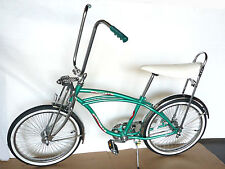 "20"" Lowrider Complete W/ 68 spoke Bike Steel Bicycle Green"