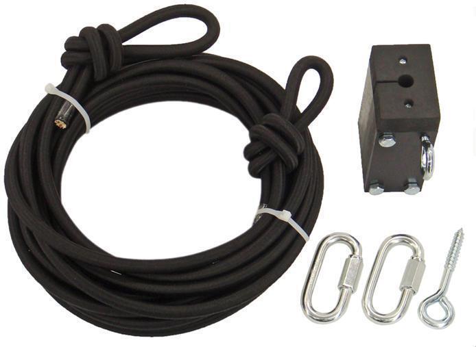 Zipline Zipline Zipline Cable Trolley - Bungee Brake Kit 8af0e2