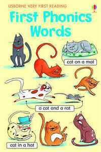 First-Phonics-Words-Very-First-Reading-by-Mairi-Mackinnon-NEW-Book-FREE-amp-FA