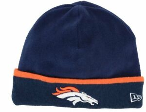 2014-2015 New Era NFL Denver Broncos Tech Knit On Field Sideline ... 04d4462894