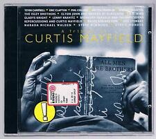 A TRIBUTE TO CURTIS MAYFIELD CLAPTON SPRINGSTEEN STEVIE WONDER CD SIGILLATO!!!