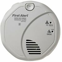 Smoke/carbon Monoxide Alarm First Alert Voice Location,save A Life,gas Detector on sale