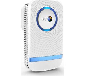 BT 11ac WiFi Range Extender Universal AC 1200 Dual B& Plug & Play White