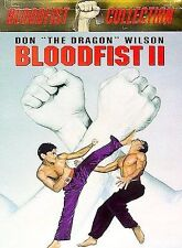 "Bloodfist II  DVD DON ""THE DRAGON"" WILSON BRAND NEW FACTORY SEALED !"