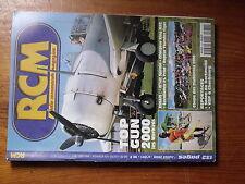 $$6 Revue RCM N°231 Plan encarte Nieuport 17  Top Gun 2000  Diablotins 2000