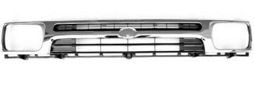 Frontgrill Vorne für Toyota Hilux LN105 1992 Älter Chrom und Schwarz
