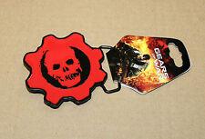 Gears of War rare Metal Belt Buckle Epic Games 2010