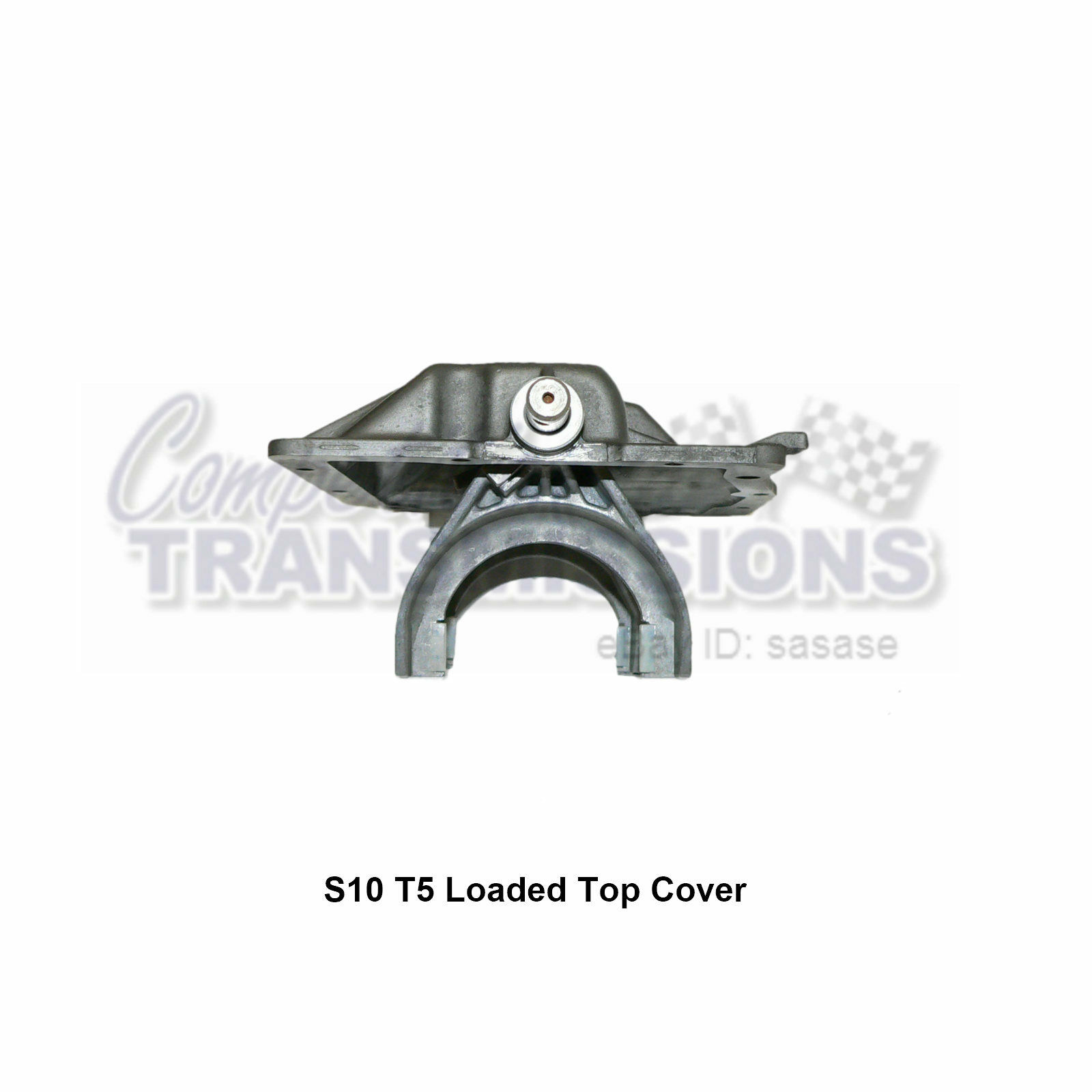 T5 Top Cover with Forks USED 5 Sp Transmission Camaro Firebird NEW Fork Pads