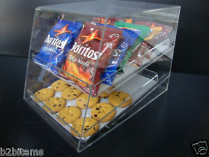 Acrylic-CUPCAKE-Stand-Pastry-Bakery-Donut-Display-Case-with-2-trays
