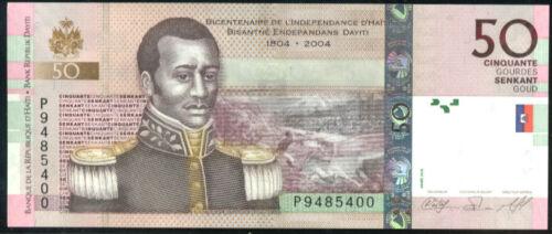 HAITI P 274c  COMMEMORATIVE  Uncirculated 50  GOURDES 2010