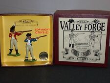 BRITAINS 5872 VALLEY FORGE REDCOAT + CONTINENTAL METAL TOY SOLDIER FIGURE SET