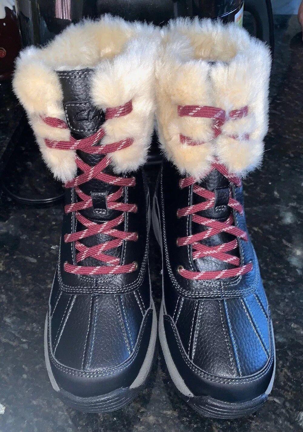 Clarks botas Negro Cuero Mazlyn resistente al agua del del del Ártico Talla 6.5 M  ahorra hasta un 50%