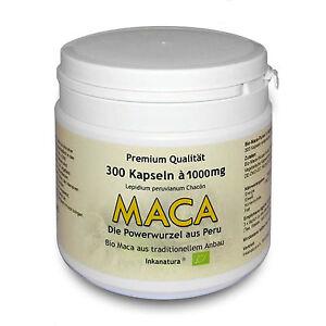 MACA-KAPSELN-BIO-300-Stk-a-1000mg-Inkanatura-ORIGINAL-AUS-HUAYRE-JUNIN-PERU