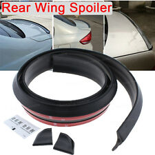 2017 Universal No Drilling Rear Tail Empennage Wing Lip Spoiler Trunk For Dodge