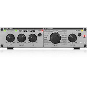 Appris Tc Electronic M100 Stéréo Multi-effets Reverb Delay Chorus Digital Processeur-afficher Le Titre D'origine