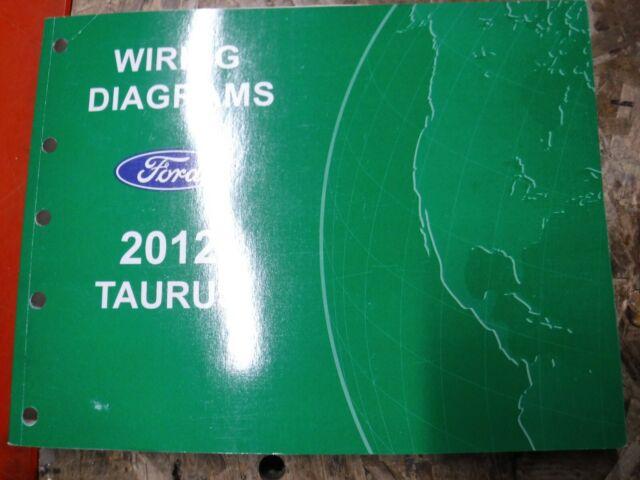 2012 Ford Taurus Original Factory Wiring Diagrams Manual