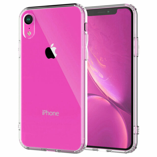 timeless design ca2df 10db0 for iPhone XR Clear Transparent Case Shock Absorption TPU Bumpers and Hard  Back